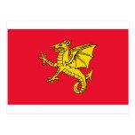Bandera de Wessex Tarjetas Postales