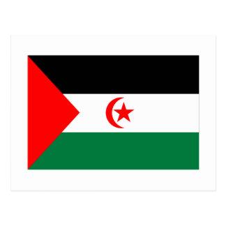 Bandera de Western Sahara Postales