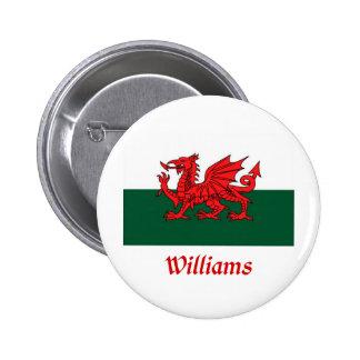 Bandera de Williams Galés Pin
