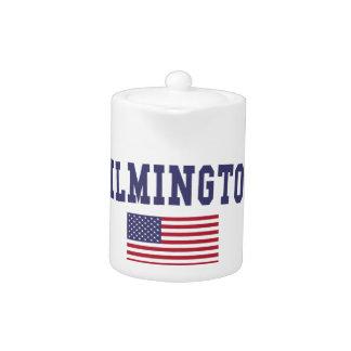 Bandera de Wilmington DE los E.E.U.U.