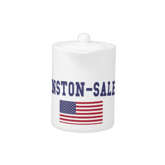 Bandera de Winston-Salem los E.E.U.U.