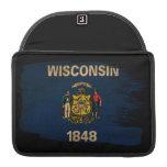 Bandera de Wisconsin Fundas Para Macbook Pro