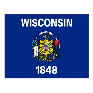 Bandera de Wisconsin Postales