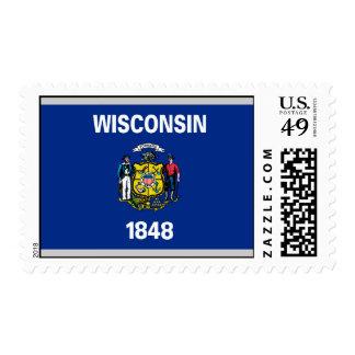 Bandera de Wisconsin Sellos