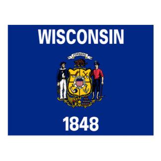 Bandera de Wisconsin Postal