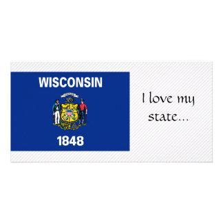 Bandera de Wisconsin Tarjetas Personales
