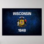 Bandera de Wisconsinite Poster
