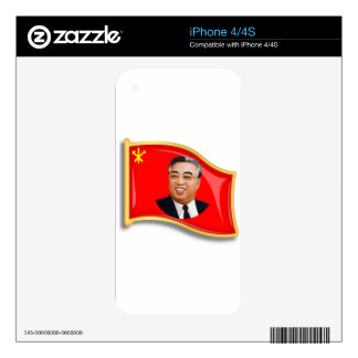Bandera de WPK Skins Para iPhone 4S