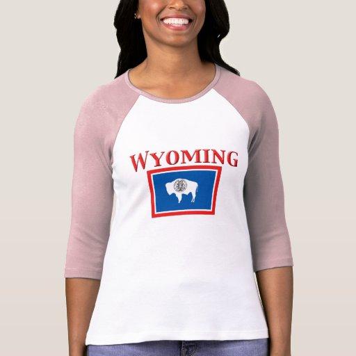 Bandera de Wyoming Camiseta