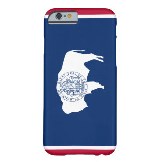 Bandera de Wyoming Funda Para iPhone 6 Barely There