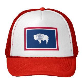 Bandera de Wyoming Gorras De Camionero