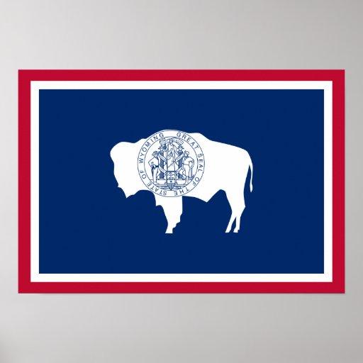 Bandera de Wyoming Impresiones