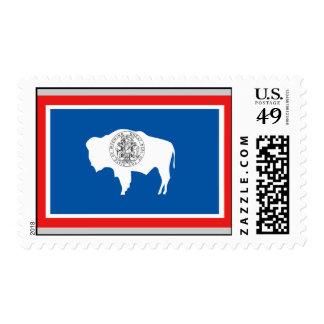 Bandera de Wyoming Sello