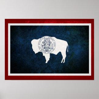 Bandera de Wyomingite Impresiones