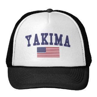 Bandera de Yakima los E.E.U.U. Gorro