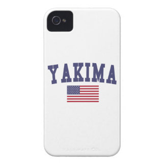 Bandera de Yakima los E.E.U.U. iPhone 4 Case-Mate Carcasas