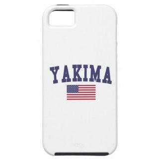 Bandera de Yakima los E.E.U.U. iPhone 5 Carcasas