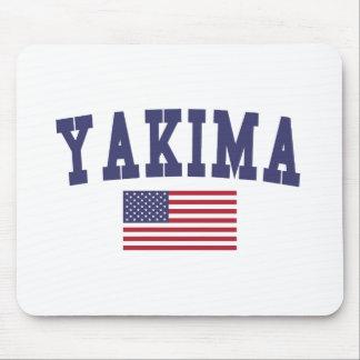 Bandera de Yakima los E.E.U.U. Mouse Pads