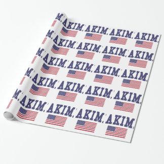 Bandera de Yakima los E.E.U.U. Papel De Regalo