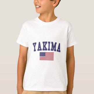 Bandera de Yakima los E.E.U.U. Poleras