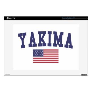Bandera de Yakima los E.E.U.U. Portátil 38,1cm Skins