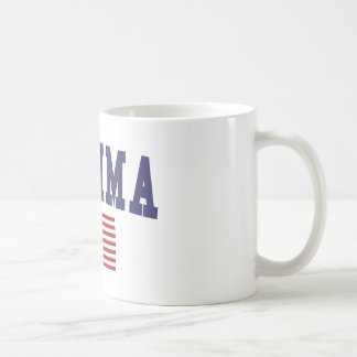 Bandera de Yakima los E.E.U.U. Taza