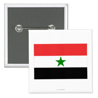 Bandera de Yemen (1962-1990) Pin Cuadrada 5 Cm