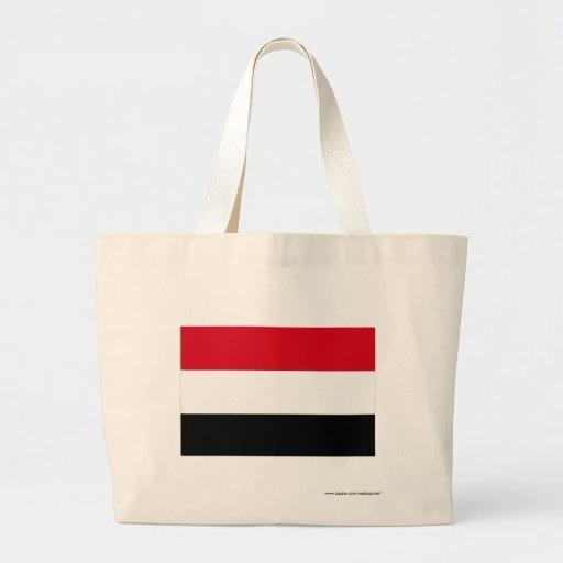 Bandera de Yemen Bolsas Lienzo