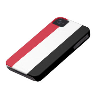 Bandera de Yemen iPhone 4 Case-Mate Coberturas