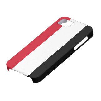 Bandera de Yemen iPhone 5 Case-Mate Cobertura