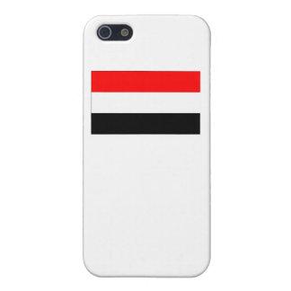Bandera de Yemen iPhone 5 Funda