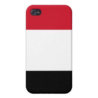 Bandera de Yemen iPhone 4/4S Fundas