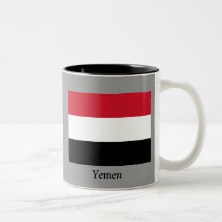Bandera de Yemen Taza De Dos Tonos