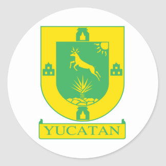 Bandera de Yucatán México Pegatinas