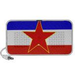 Bandera de Yugoslavia Altavoz De Viaje