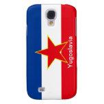 Bandera de Yugoslavia Carcasa Para Galaxy S4