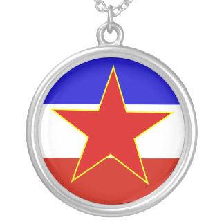Bandera de Yugoslavia Colgante Redondo