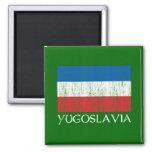 Bandera de Yugoslavia Iman Para Frigorífico