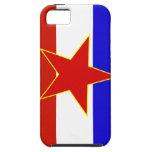 Bandera de Yugoslavia iPhone 5 Cobertura