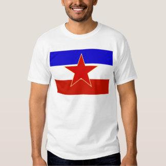 Bandera de Yugoslavia Playera