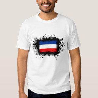 Bandera de Yugoslavia Remera
