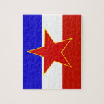 Bandera de Yugoslavia Rompecabezas Con Fotos