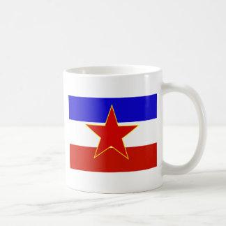 Bandera de Yugoslavia Tazas