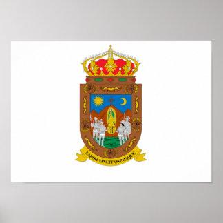 Bandera de Zacatecas Póster