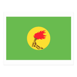 Bandera de Zaire (1971-1997) Postal