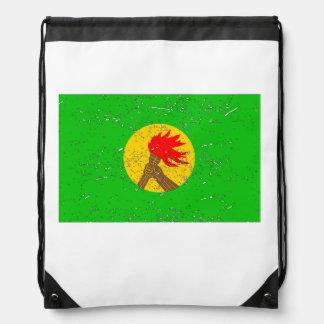 Bandera de Zaire (apenada) Mochilas