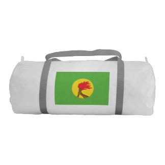 Bandera de Zaire Bolsa De Deporte