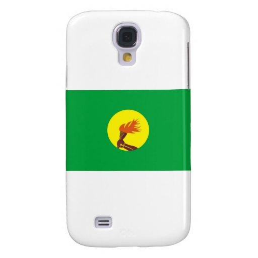Bandera de Zaire-Congo Funda Para Galaxy S4