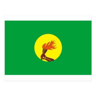 Bandera de Zaire-Congo Postal