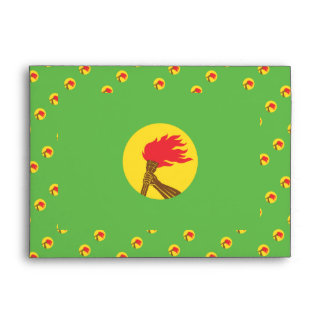 Bandera de Zaire Sobre
